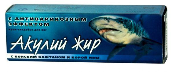 cremă de rechin cu varicoză